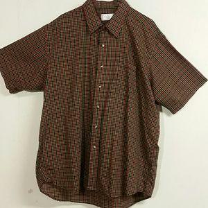 The Men's Store Short Sleeve Shirt - XL